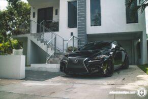 Lexus IS250 on HRE FF15