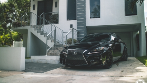 Lexus IS250 on HRE FF15