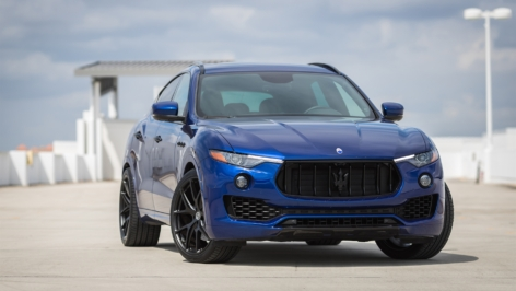 Maserati Levante on HRE P101