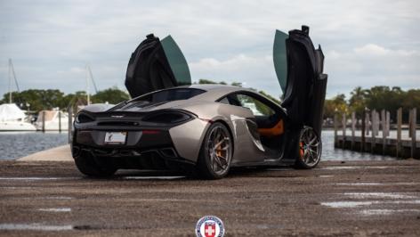 McLaren 570S on HRE P201