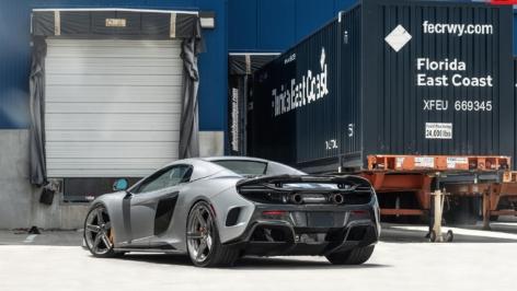 McLaren 675LT on ANRKY AN25