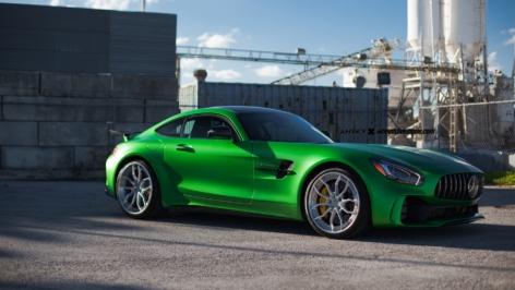 Mercedes AMG GTR on ANRKY AN31