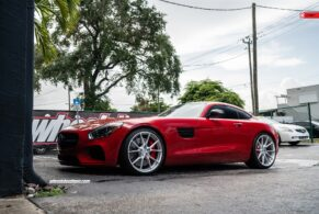 Mercedes AMG GTS on ANRKY Wheels AN12