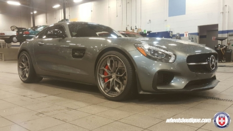 Mercedes AMG GTS on HRE S201