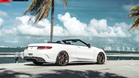 Mercedes S63 Cabrio on ANRKY AN33