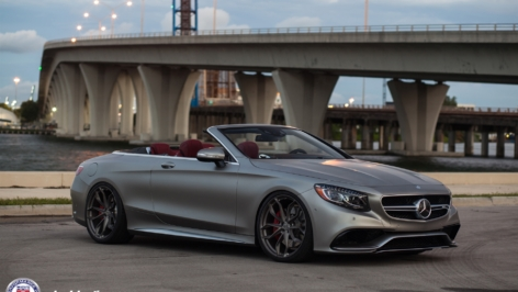 Mercedes S63 AMG Cabrio Edition 130 on HRE P201