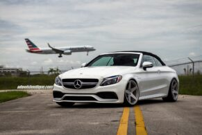 Mercedes C63 AMG on HRE 305M
