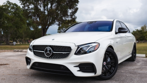 Mercedes E43 AMG on HRE S101