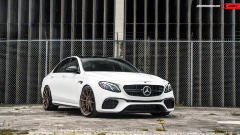 Mercedes E63 S AMG on ANRKY AN28
