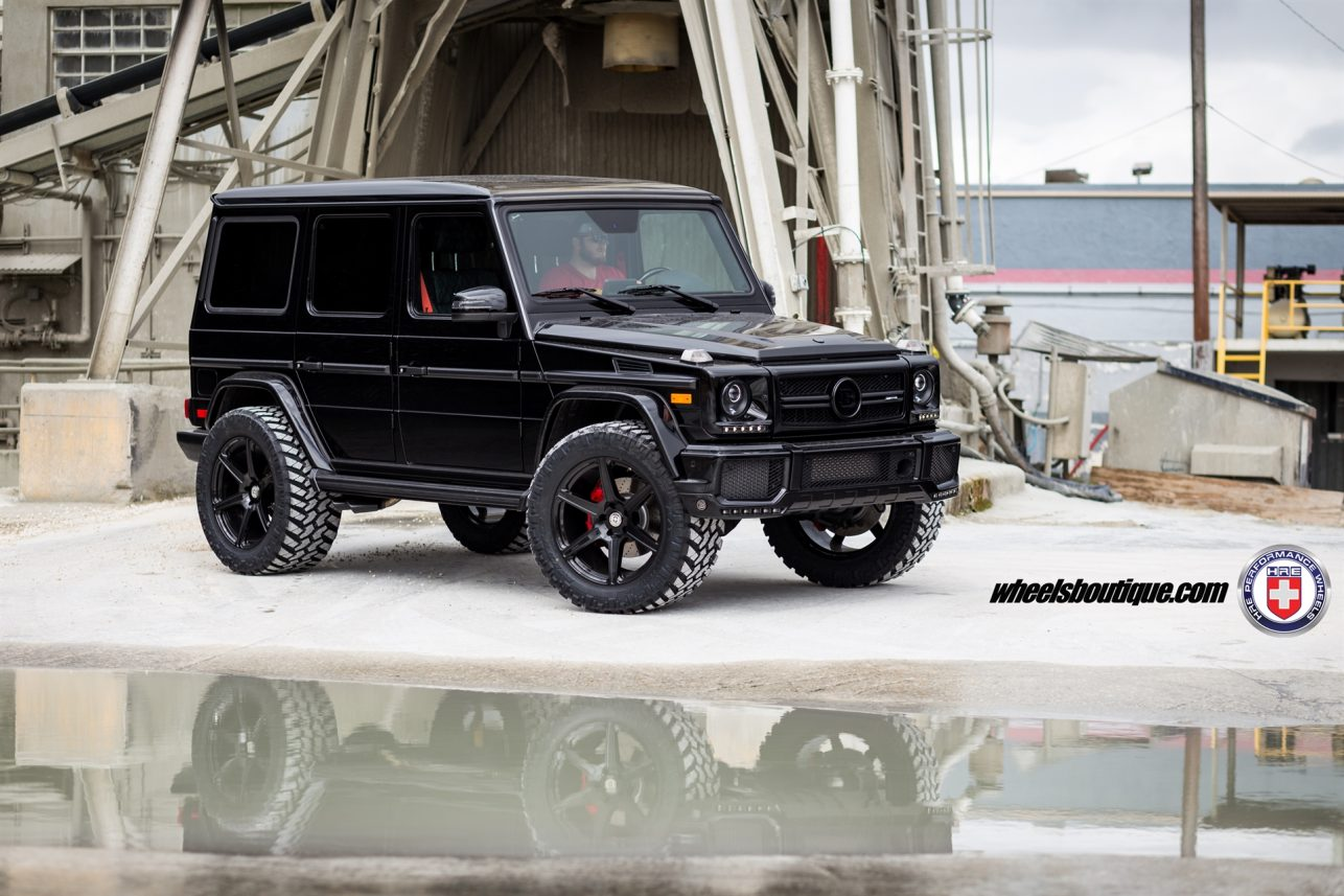 Mercedes G63 AMG on HRE TR106 Gallery | Wheels Boutique