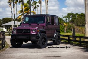 Mercedes G63 AMG on Rotiform PNT Offroad