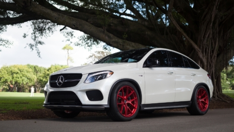 Mercedes GLE43 AMG on HRE P101