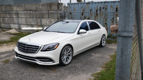 Mercedes Maybach S600 on ANRKYs AN30