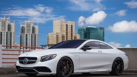Mercedes S63 on HRE P201