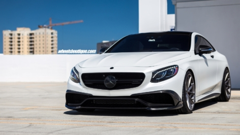 Mercedes S63 AMG on HRE P204 w/ Full Brabus Kit and Akrapovic Exhaust