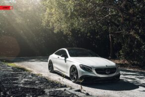 Mercedes S63 Coupe on ANRKY AN35