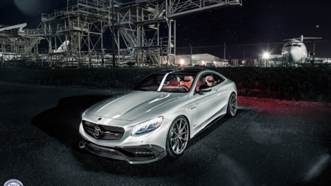Mercedes S63 AMG Coupe on HRE P204