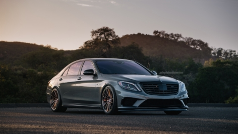 Mercedes S63 on HRE RS309