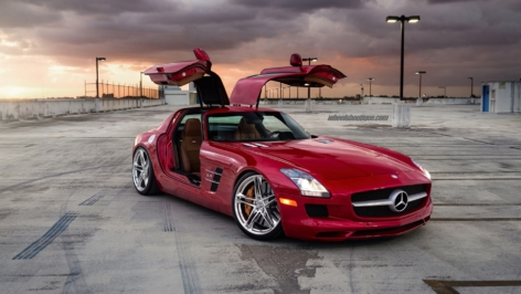Mercedes SLS AMG on HRE P207