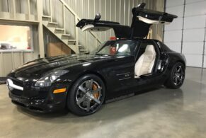 Mercedes SLS AMG on HRE RS106