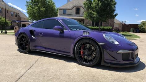 Porsche 991 GT3RS on HRE R101LW