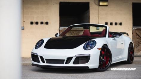 Porsche 991 GTS on HRE R101 LW