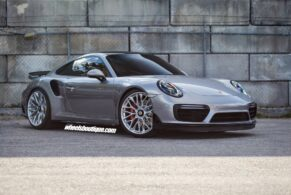 Porsche 991 Turbo on HRE P200