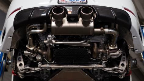 Porsche 991.2 C4S Exhaust System