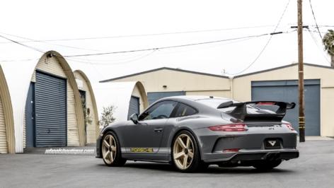Porsche 991.2 GT3 on Vorsteiner VCS-003