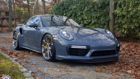 Porsche 991.2 Turbo on HRE P101