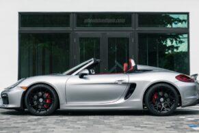 Porsche Boxster Spyder on HRE FF01