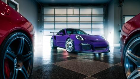 Porsche 991 GT3RS on HRE P103