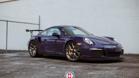 Porsche GT3RS on HRE R101 LW