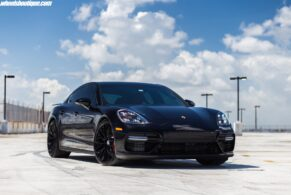 Porsche Panamera Turbo on HRE P200