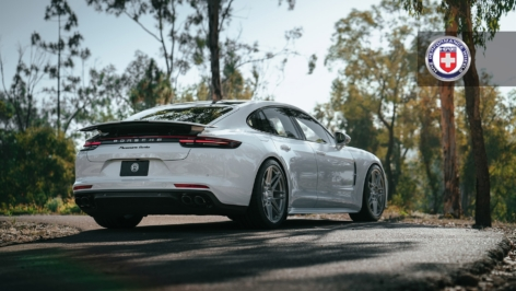 Porsche Panamera Turbo on HRE RS200M