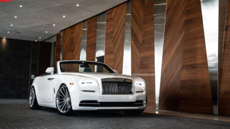 Rolls Royce Dawn on ANRKY Wheels AN19