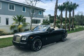 Rolls Royce Drophead Coupe on Giovanna Barbados