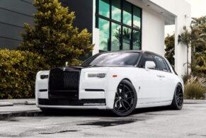 Rolls Royce Phantom (2018) on ANRKY Wheels AN31