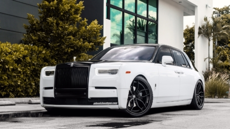 Rolls Royce Phantom (2018) on ANRKY Wheels AN31