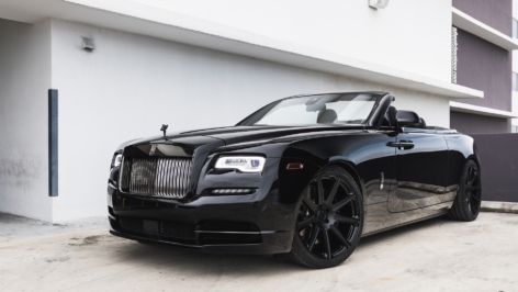 Rolls Royce Dawn on HRE TR109