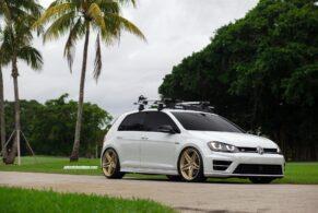 VW Golf R on HRE P107