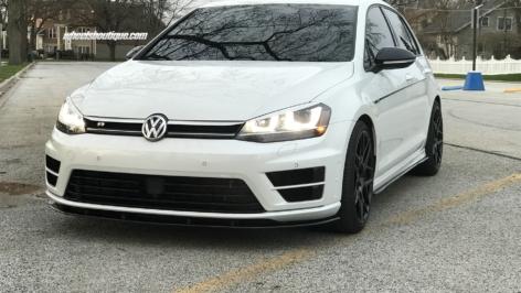 VW Golf R on HRE FF01