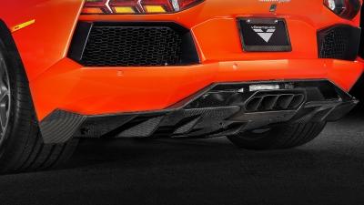 Zaragoza Edizione Aero Rear Diffuser For Lamborghini Aventador