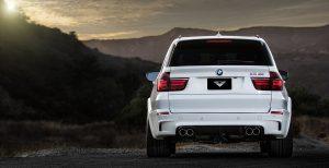 E70 X5M VRS Rear Add-On Diffuser