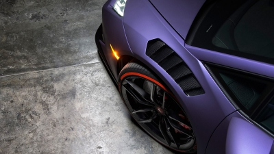 Novara Edizione Aero Front Fenders w/ Integrated Vents and Splash Sheilds