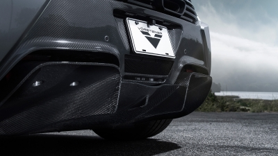 V-MC Aero Rear Bumper Cover w/ Rear Diffuser