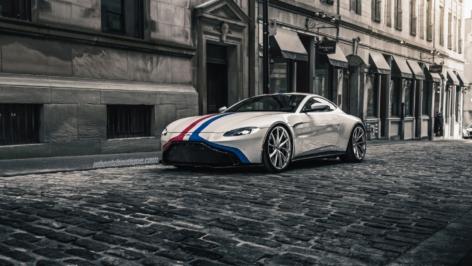 Aston Martin Vantage on HRE Wheels P204