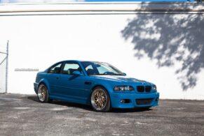 BMW M3 (E46) on HRE Wheels 540