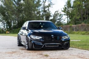 BMW F80 M3 on HRE P204