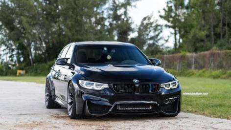 BMW F80 M3 on HRE P204